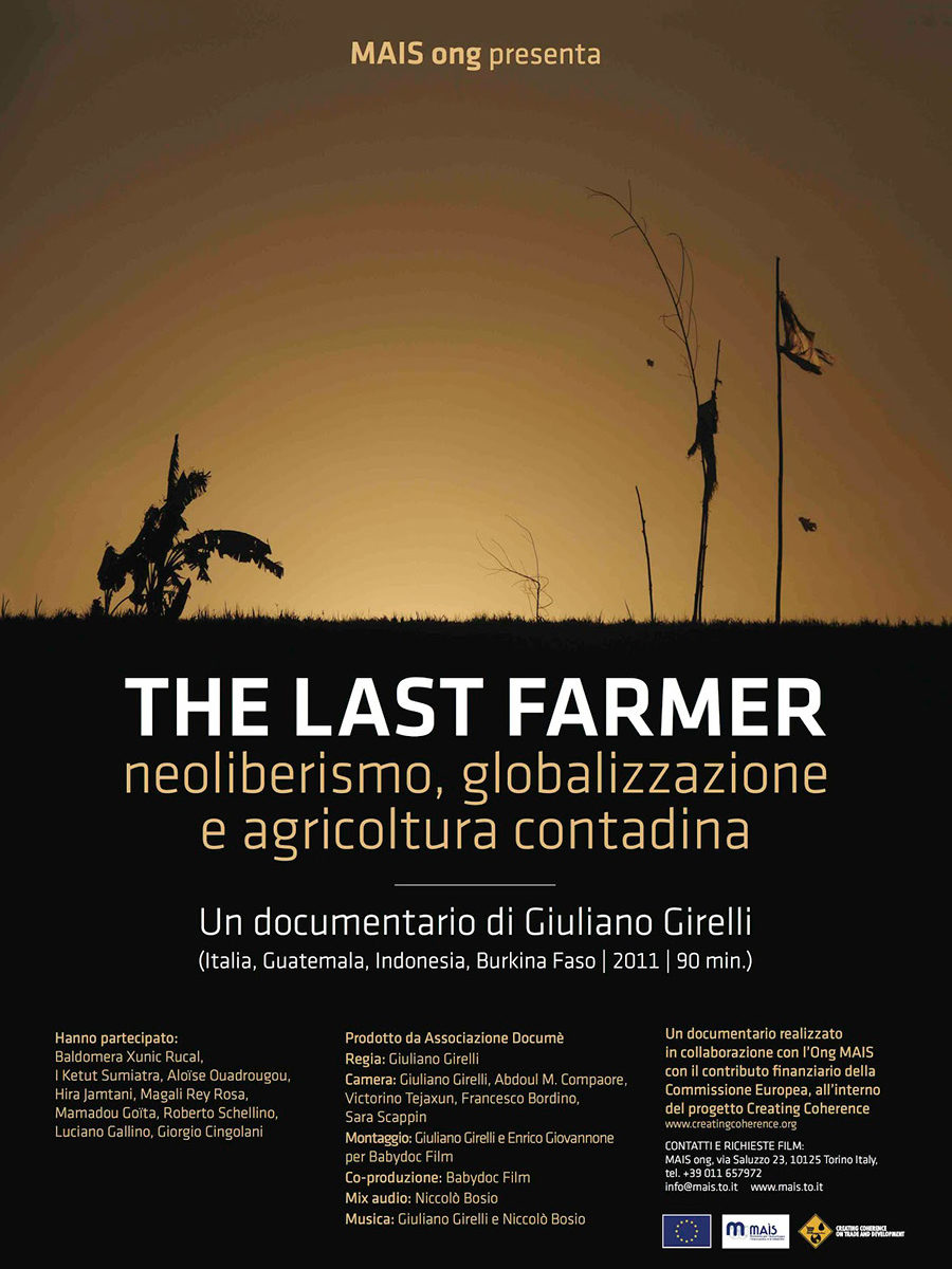 "Film documentario ""The last farmer"""